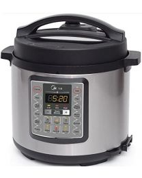 """Ecohouzng """"ECP50034"""" Stainless Steel Electric Pressure Cooker"""